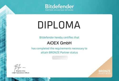 official Bitdefender-partner