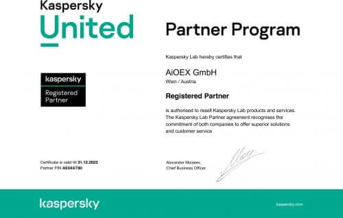Certified Kaspersky Seller