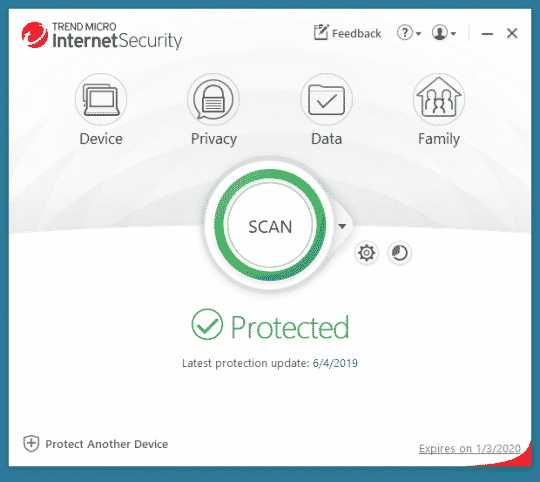 buy Trend Micro internet security 2021 discount