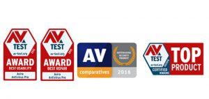 avira antivirus internet security awards