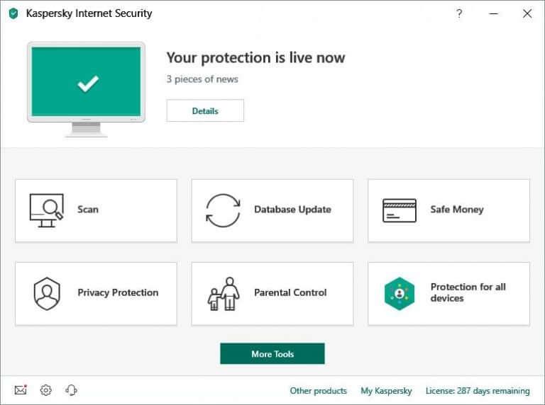 Kaspersky Internet Security Software